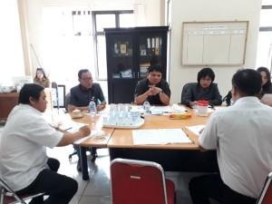 Pembahasan Pansus Propemperda bersama instansi terkait