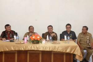 Dua Senator asal Sulut dan jajaran Pemkot Tomohon