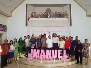 BAMAG dan Pemerintah Kecamatan Kumelembuai Gelar Ibadah Natal