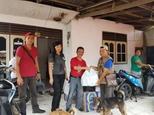 korban banjir di Kota Manado.