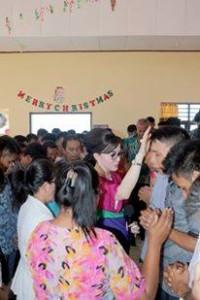 Rutan Amurang, Bupati CEP, natal  Rutan Amurang,