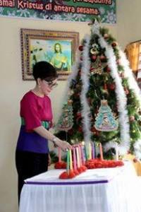 Ibadah Perayaan Natal di Rutan Amurang, Bupati CEP Doakan Warga Binaan