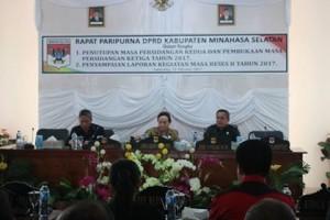 DPRD Minsel Gelar Paripurna Pembukaan Masa Sidang II dan Penutupan Masa Sidang III Serta Hasil Reses2