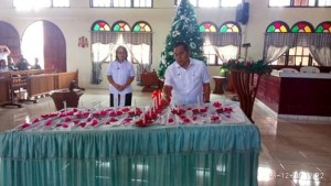 Safari Natal di Eris, JWS: Natal Harus Bawa Damai dan Sukacita