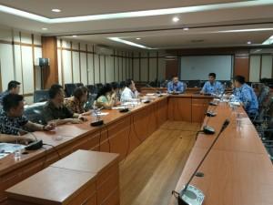Konsultasi Pansus Propemerda dipimpin Wakil Ketua DPRD Youddy YY Moningka