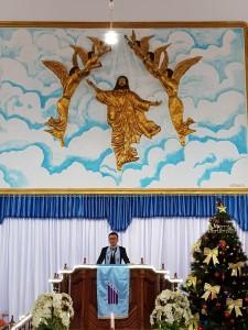 SBAN Liow Lantik Panitia Pemilihan Aras Wilayah Tareran Dua di Peringatan HUT