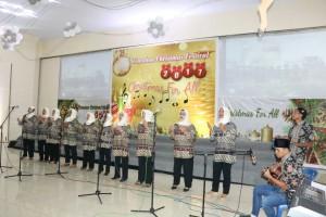 Kelurahan Kampung Jawa yang ambil bagian dalam ibadah pembukaan