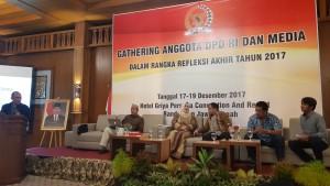 Refleksi Akhir Tahun, DPD-RI Gelar Press Gathering di Semarang