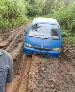 Jalan Toyopon-Raanan , Motoling Barat