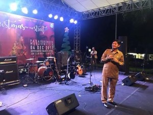 Drs Audy Pangemanan AP MSi ,  Christmas On The Street