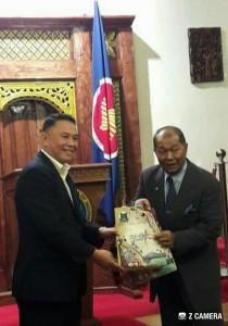 Wali Kota Tomohon dan Duta Besar Indonesia untuk Ceko
