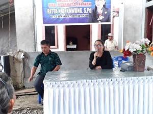 Reses Masa Sidang III, Rita Kawung , DPRD minsel