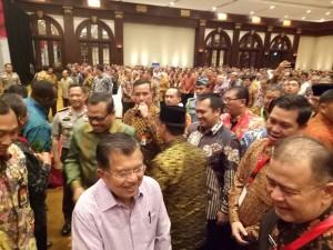 Wagub Kandouw Dapat Pesan dari Wapres Jusuf Kalla di Rakorwasdanas Tahun 2017