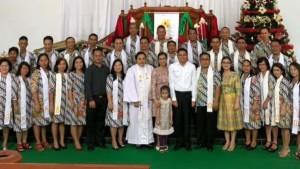 Bupati Sumendap Ibadah Natal Bersama Jemaat GMIM Dame Tosuraya, Wabup Kandoli di GMIM Anugrah Lowu