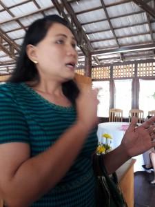 Rita Kambong SH, anggota Panwaslu Kota Tomohon
