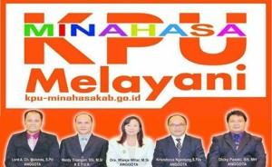 pilkada minahasa 2018, KPU minahasa, pemilu minahasa