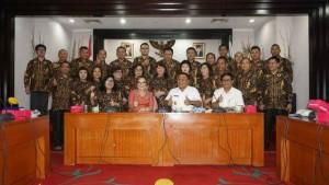 Lurah-Camat Tomohon Belajar di Bandung dan Depok