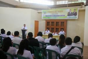 Pembukaan kegiatan Fasilitasi Koordinasi Kemiskinan Daerah