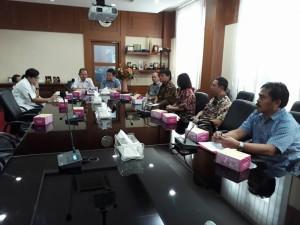 Kunker Komisi I DPRD Tomohon di Kota Semarang