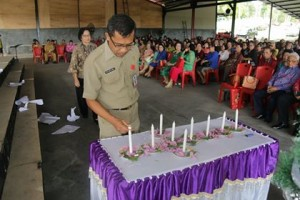 Rukun Keluarga Pendeta Emertus GMIM , Drs. Piether D. Owu,