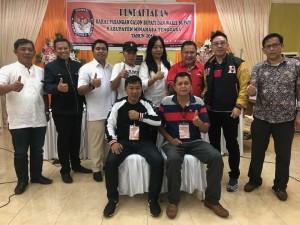 JS-JL Mendaftar di KPU Didampingi 8 Pengurus Partai pendukung