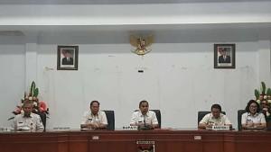 Bupati Minahasa Hadiri Rapat Dinas Awal Tahun 2018