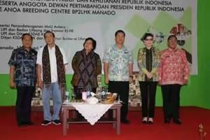 Bupati Minsel Hadiri Kunker Mentri Lingkungan Hidup dan Kehutanan RI di BP2LHK Manado