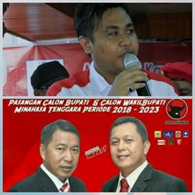 Gerindra Minahasa Tenggara,  Alkindi Bilfaqi, pilkada mitra 2018, JS-JL
