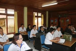 Peserta rapat dari utusan perangkat daerah