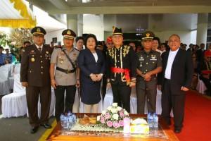 Wali Kota bersama Unsur Forkopimda Kota Tomohon