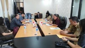 Komisi I DPRD Tomohon-BKPP Bahas Rekrutmen CPNS dan Nasib K2