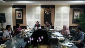 Wali Kota Tomohon bersama rombongan di Kementerian Pertanian