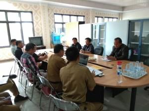 Komisi I DPRD Tomohon saat hearing dengan KPU dan Disdukcapil