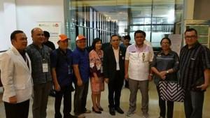 KPU dan Panwaslu Minahasa pantau dan awasi pemeriksaan kesehatan Paslon Bupati dan Wabup Minahasa