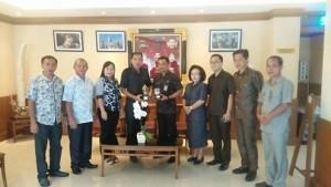 Komisi III, DPRD Minsel , Pemkot Denpasar