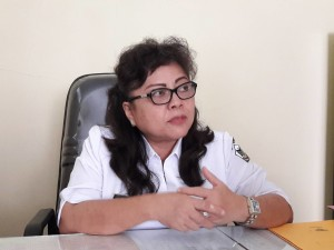 Kadisw Kesehatan Tomohon dr Deesje Liuw MBiomed