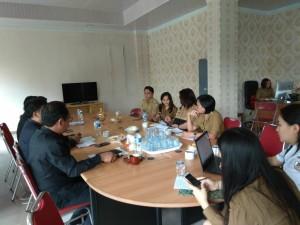 Komisi II DPRD Tomohon dnegan Dinas PUPR