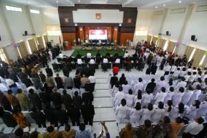 Rapat Paripurna Istimewa HUT ke-15 Kota Tomohon