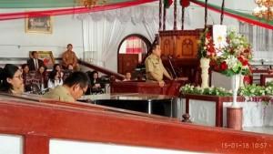 Pemkab Minahasa Gelar Ibadah Awal Tahun Dirangkaikan HUT Bupati JWS ke-56
