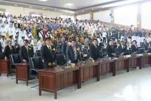 Peringati HUT ke 15 Kabupaten Minsel DPRD Gelar Rapat Paripurna Istimewa