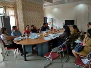 Rapat pembahasan dipimpin Ketua Pansus Piet HK Pungus SPd