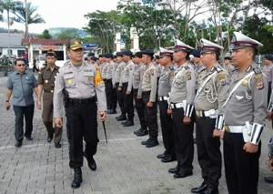 Polres Minahasa, Pilkada Minahasa 2018, AKBP Christ Reinhard Pusung,