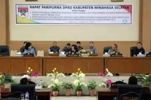 DPRD Minsel, DPRD Minsel 2018, agenda DPRD Minsel