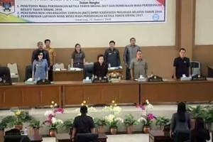 Rapat Paripurna Perdana DPRD Minsel di Tahun 2018 Dengan Tiga Agenda