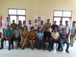 Sibat PMI Kecamatan Kumelembuai , PMI Kecamatan Kumelembuai ,  Roy Tambingon