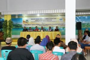 Dialog pemuda lintas agama di Rumah Dinas Wali Kota Tomohon