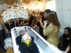 Wakil Wali Kota Tomohon Hadiri Ibadah Pemakaman Ajudan Prabowo
