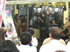 Wakil Wali Kota SAS memberikan sambutan