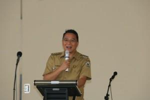 Sambutan Wali Kota Tomohon JImmy F Eman SE Ak