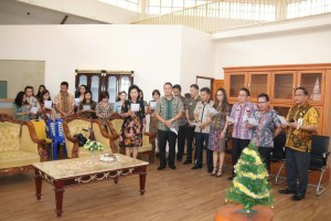 Wali Kota Tomohon menempati ruangan baru